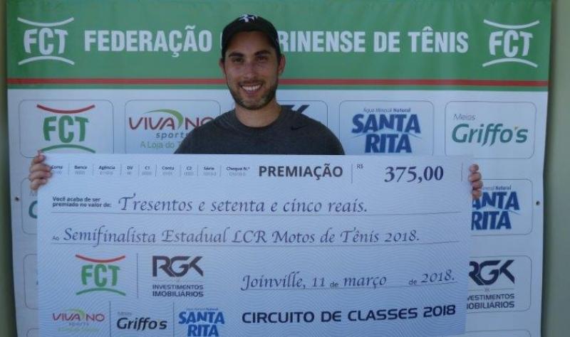 Foto PREMIAÇÃO ESTADUAL LCR MOTOS DE TÊNIS 2018 (I Classes)