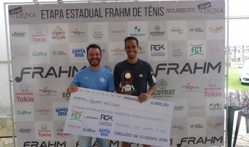 Foto ETAPA ESTADUAL FRAHM DE TÊNIS (VI CLASSES FCT)