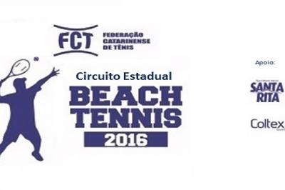Definidos os Campeões do Circuito Estadual de Beach Tennis 2016