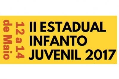 ABERTA AS INSCRIÇÕES - II ESTADUAL INFANTO JUVENIL 2017