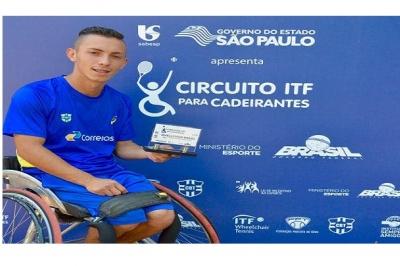 JUCÉLIO TORQUATO LEVA O TÍTULO DA SEGUNDA ETAPA DO CIRCUITO ITF PARA CADEIRANTES