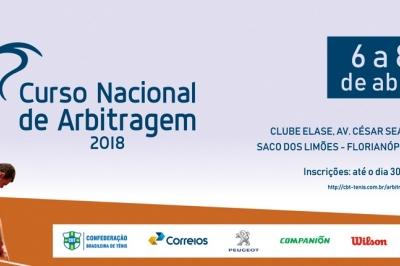 CURSO NACIONAL DE ARBITRAGEM - 2018