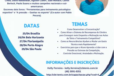 GIRA NACIONAL COM CLAUDIO SOSA (ARG) - EM FLORIANÓPOLIS 27/04/2018