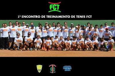 1º ENCONTRO DE TREINAMENTO DE TÊNIS FCT