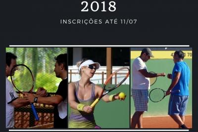 INSCRIÇÕES ABERTAS PARA O II INTERCLUBES DE TÊNIS 2018