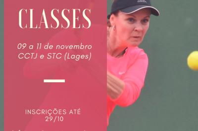 INSCRIÇÕES ATÉ HOJE - SEGUNDA-FEIRA (29/10) - MASTER CLASSES 2018
