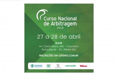 CURSO NACIONAL DE ARBITRAGEM