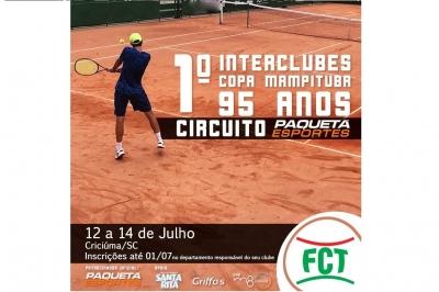 Inscrições abertas para a I Interclube – Copa Mampituba 95 anos – Circuito Paquetá Esportes