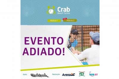 ADIADO CURSO DE CAPACITAÇÃO DE BEACH TENNIS