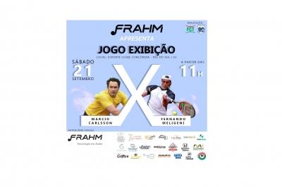 JOGO EXIBIÇÃO - 2º FRAHM DE TÊNIS - CIRCUITO PAQUETÁ ESPORTES (6ª ETAPA)