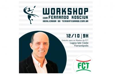 WORKSHOP FCT - COMO UTILIZAR O TENISINTEGRADO