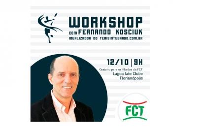 WORKSHOP com Fernando Kosciuk, o idealizador do sistema Tênis Integrado