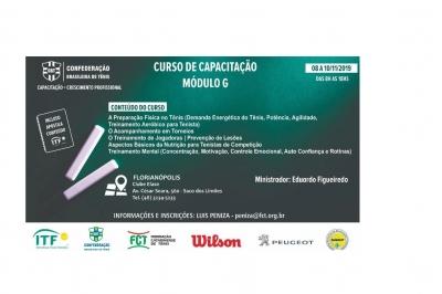 CURSO DE CAPACITAÇÃO MÓDULO G