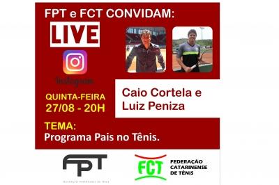 LIVE FPT E FCT - PROJETO DE DESENVOLVIMENTO DE PAIS NO TÊNIS