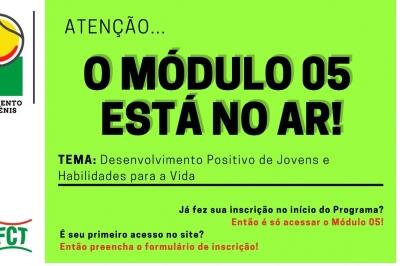 MÓDULO 5 ESTÁ NO AR - Programa de Desenvolvimento de Pais no Tênis