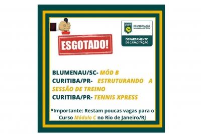 COMEÇA NESTA SEXTA (26) CURSO CAPACITAÇÃO MÓDULO B