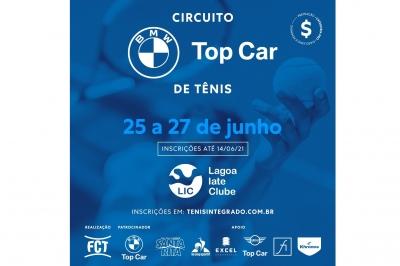 INSCRIÇÕES ABERTAS – CIRCUITO BMW TOP CAR DE TÊNIS (3º ESTADUAL FCT)