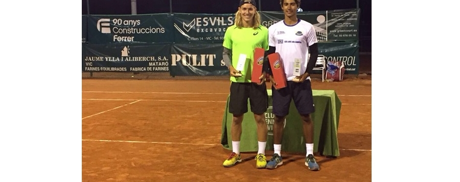 Rafael Matos é campeão em duas categorias na Espanha