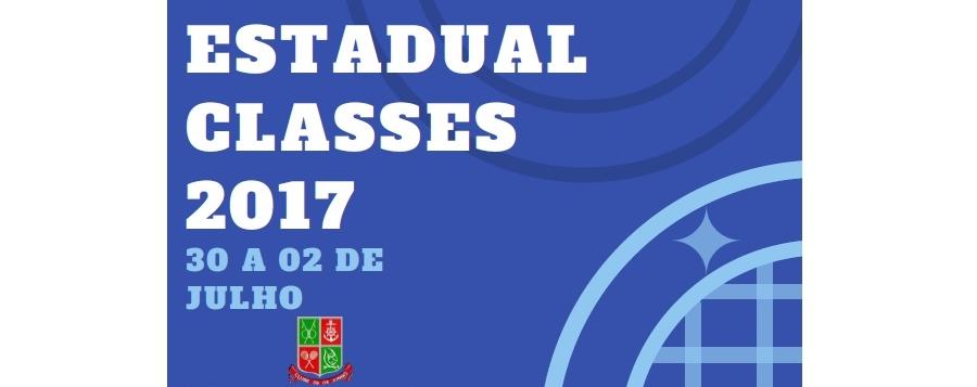 INSCRIÇÕES ENCERRADAS - IV ESTADUAL CLASSES 2017 - TUBARÃO-SC