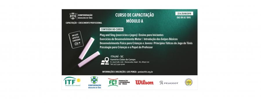 CURSO DE CAPACITAÇÃO MÓDULO A