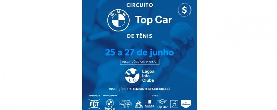 ÚLTIMOS DIAS DE INSCRIÇÕES – CIRCUITO BMW TOP CAR DE TÊNIS (3º ESTADUAL FCT)