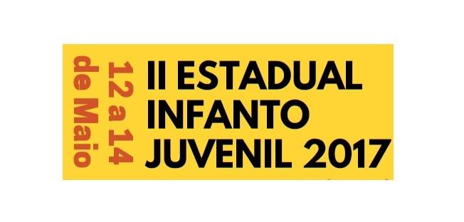 ENCERRADAS AS INSCRIÇÕES - II ESTADUAL INFANTO JUVENIL 2017