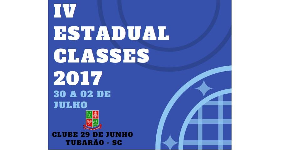 GALERIA DE CAMPEÕES - IV ESTADUAL CLASSES 2017 - TUBARÃO-SC
