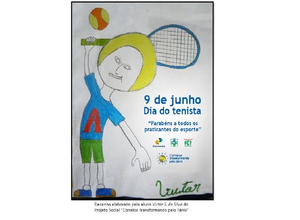 DIA DO TENISTA - 9 DE JUNHO