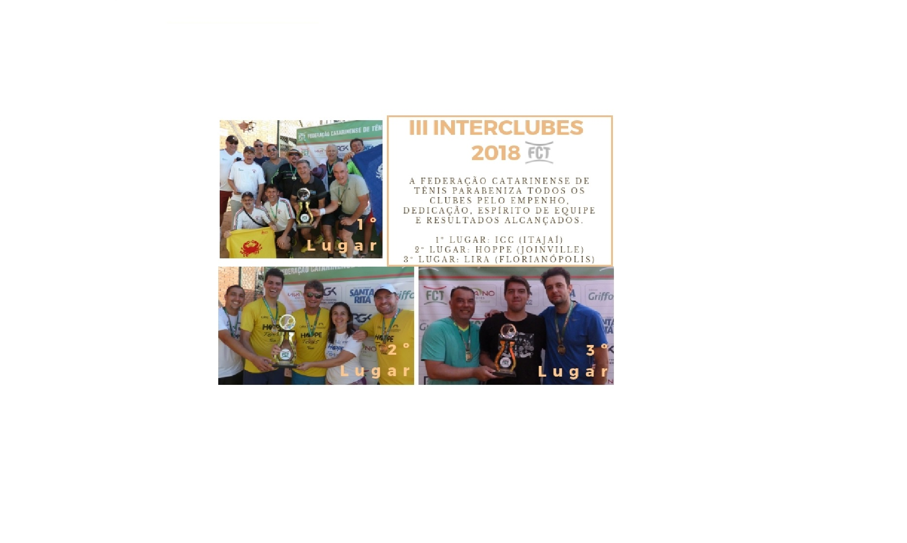 III INTERCLUBES 2018