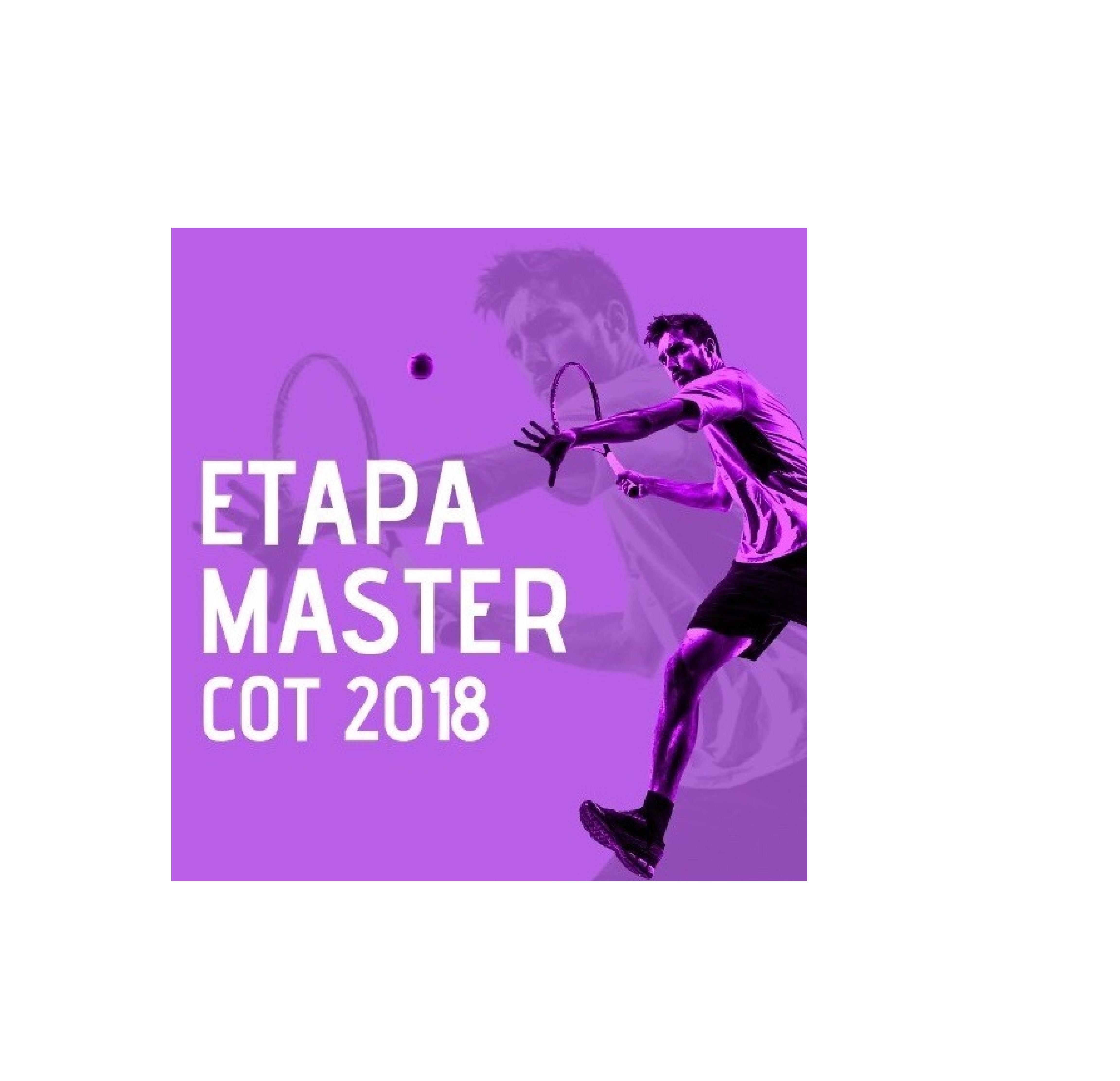MASTER COT DE TÊNIS 2018