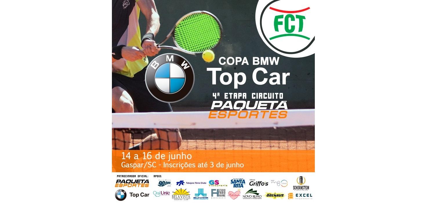 INSCRIÇÕES ABERTAS PARA A COPA BMW TOP CAR (CIRCUITO PAQUETÁ ESPORTES 4ª ETAPA)
