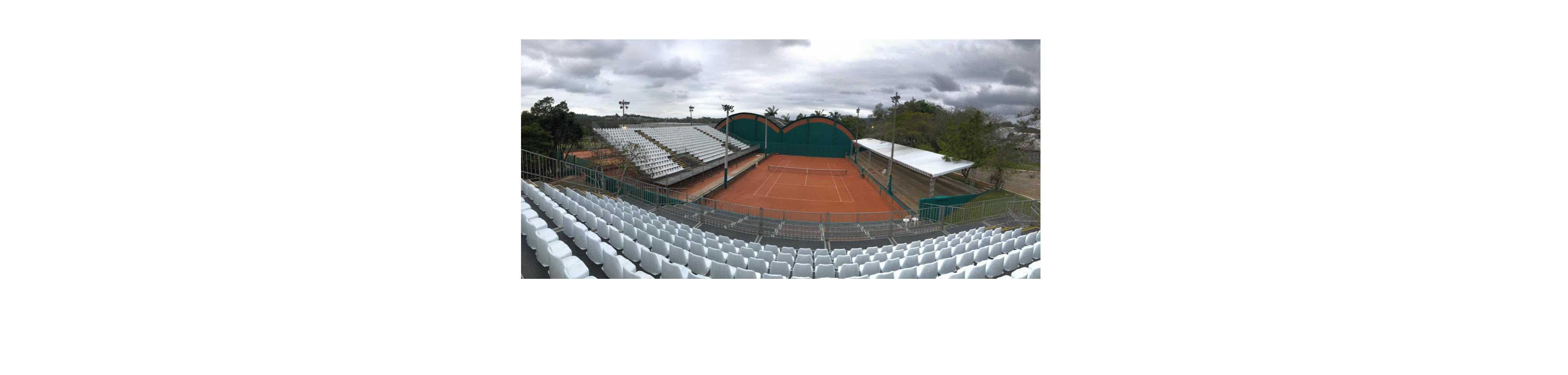 Palco da Copa Davis recebe últimos ajustes para confronto entre Brasil e Barbados