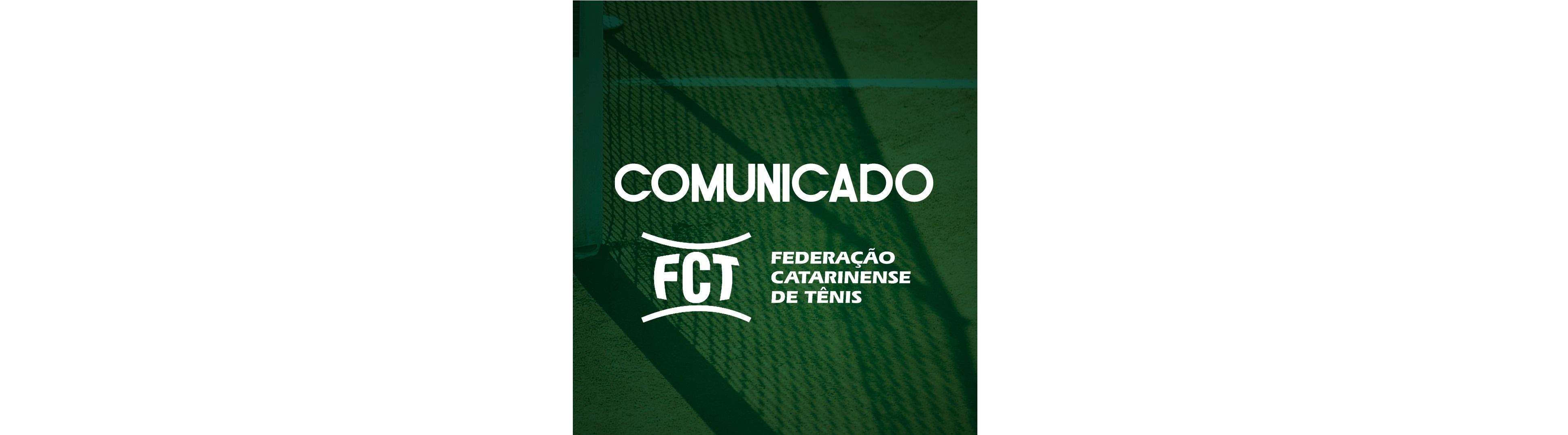 COMUNICADO FCT