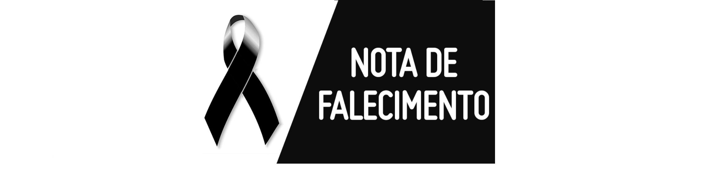 NOTA DE FALECIMENTO